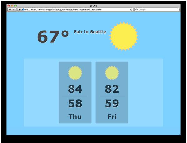 10K Apart Weather App|Midnight Cheese