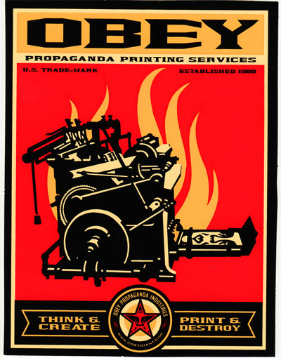 Obey Propaganda Printing Services
