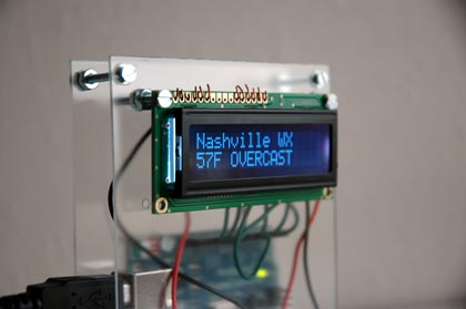 Arduino and LCD screen