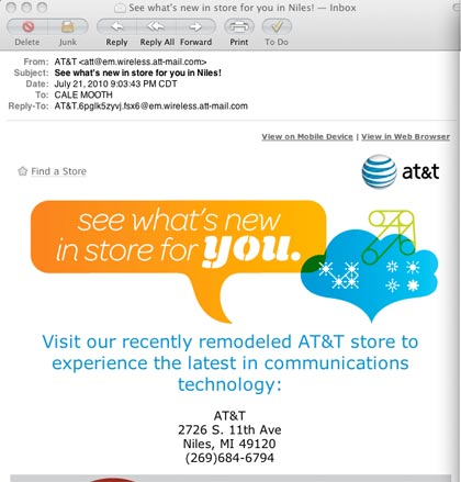 AT&T Email Fail