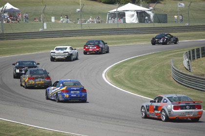 Continental Tire Race at Barber