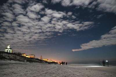 New Year's on the beach at Seaside, FL