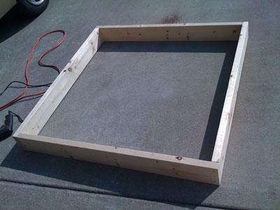 Square Foot Garden Frame