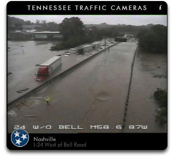 I-24 Flooding