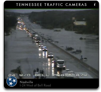 I-24 Mill Creek Flood