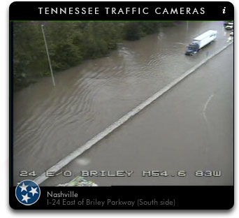 I-24 Briley Parkway Flood