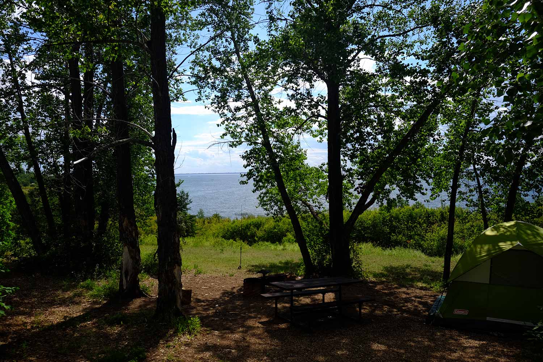 Jackfish Lake campsite