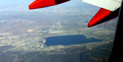 Lake Elsinore from Above