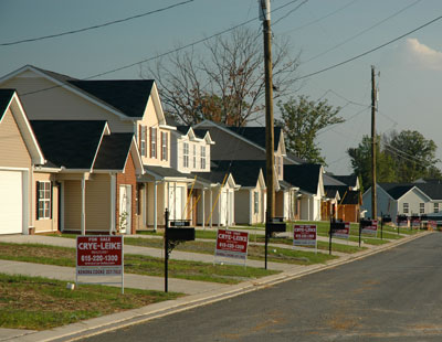 Homes in LaVergne