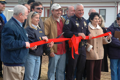 La Vergne Police Sub-station Ribbon Cutting