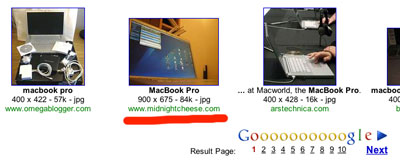 My MacBook Pro on Google Images