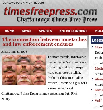 Chattanooga and mustaches