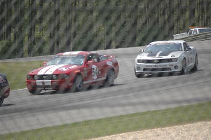 Mustang and Camaro Cars