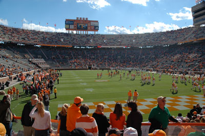 Pregame at Neyland Stadium