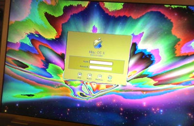 Rainbow MacBook Pro