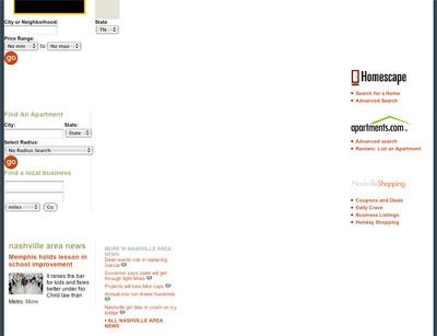 Tennessean.com looks bad on Safari